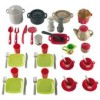 Ecoiffier - Accesorii Bucatarie Pro Cook 51 Piese
