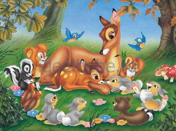 Dino - Bambi and Animals 48 piese