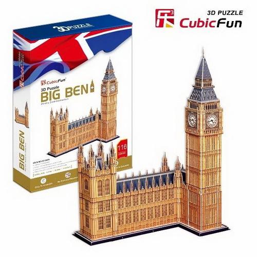 Cubicfun - Big Ben(UK) 3D