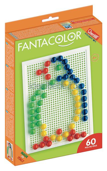 QUERCETTI - Fantacolor 60 bucati cu diametrul de 1,5cm
