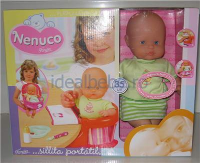 Famosa - Nenuco Soft cu masuta
