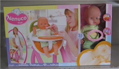 Famosa - Nenuco Soft cu Scaunel