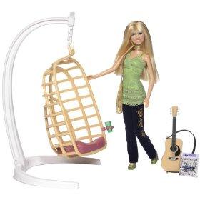 Hannah Montana - House Environment Set mic cu papusa 30 cm