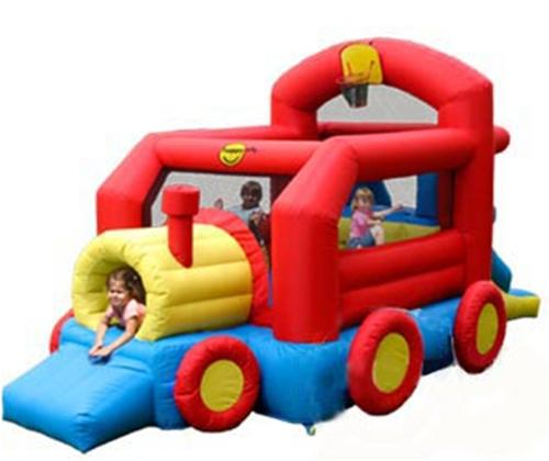Happy Hop - Spatiu de joaca gonflabil Trenulet