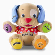 Fisher-Price - Catelus educational bilingv (in romana si engleza)