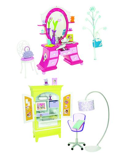 Barbie - Barbie Mobilier Birou Asortat