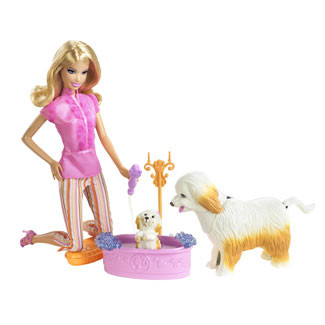 Barbie - Barbie Papusa Coafor de Animale