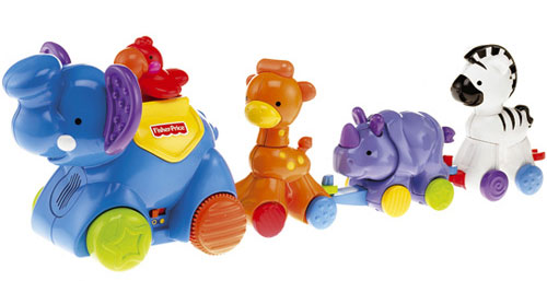 Fisher-Price - Parada animalelor