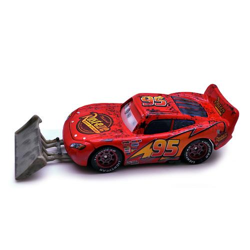 Disney Cars - McQueen cu lopata
