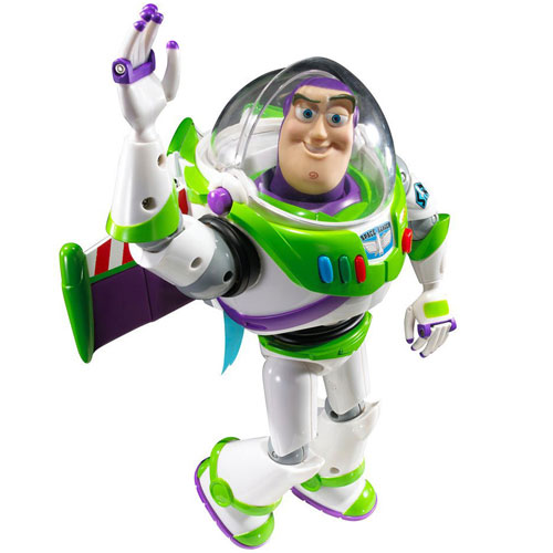 Toy Story - Figurina Deluxe Jet Pack Buzz Lightyear