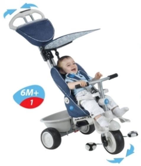 Smart Trike - Recliner 4 in 1 Denim