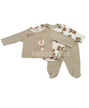 Mon Caramel - Costumas Bear 3 piese