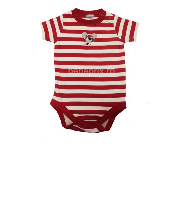 Carters - Body bebe Striped Red