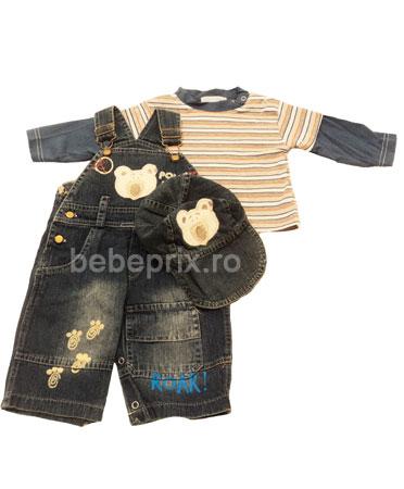 Ohm&Emmy - Set 3 piese Jeans Bear