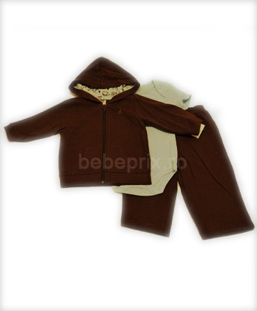 Faded Glory - Trening Hoddie Brown