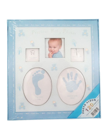Baby Album - Album Babyprints bleu