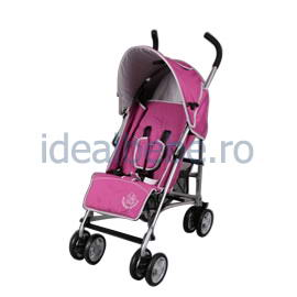 Bambino World- Carucior buggy PINK- tip umbrela