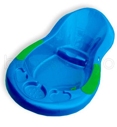Primii Pasi - Cadita baie lux ergonomica cu dop evacuare