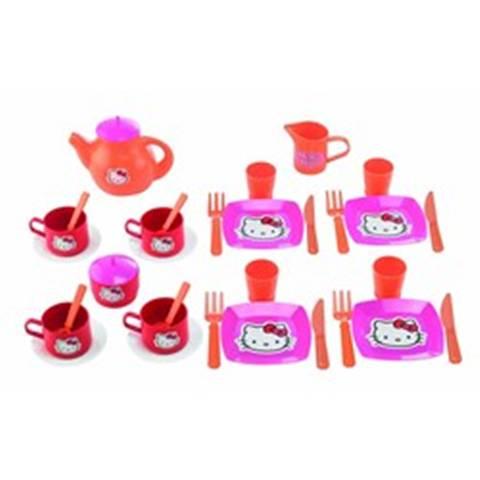 Ecoiffier - Set Mic Dejun si Set Ceai Hello Kitty
