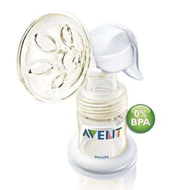 Philips Avent - Pompa manuala de san 0% BPA