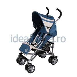 Bambino World-Carucior buggy BLUE-tip umbrela