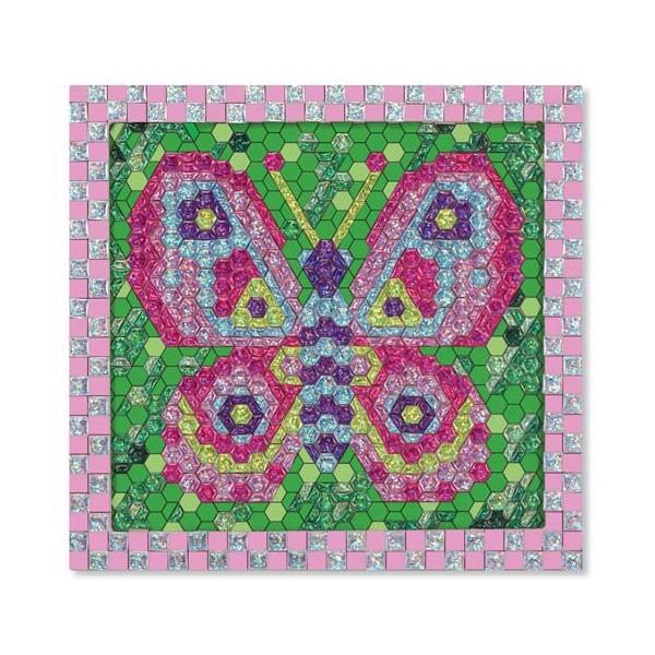 Melissa & Doug - Set de creatie mozaic pe numere Fluture