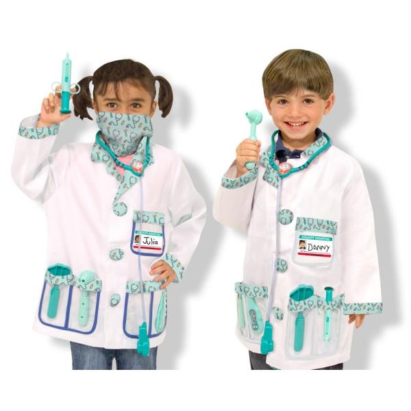 Melissa&Doug - Costum carnaval copii Medic