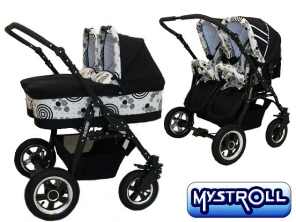 Mystroll - Carucior gemeni Twins