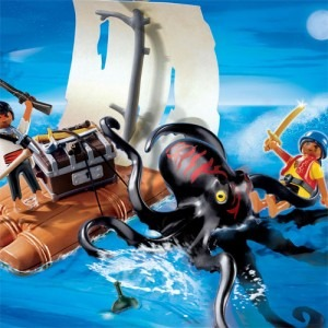 Playmobil - Pirates: Caracatita uriasa