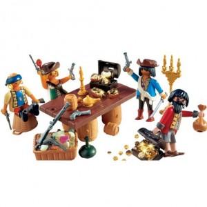 Playmobil - Pirates: Pirati cu comoara