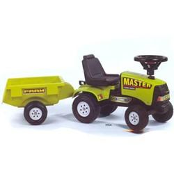 Falk - Tractoras Baby Master cu remorca